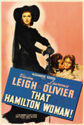 "Movie Posters:Drama, That Hamilton Woman (United Artists, 1941). One Sheet (27"" X41"")...."