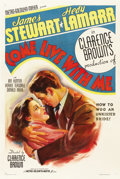 "Movie Posters:Comedy, Come Live with Me (MGM, 1941). One Sheet (27"" X 41"") Style C...."