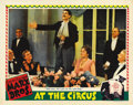 "Movie Posters:Comedy, At the Circus (MGM, 1939). Lobby Card (11"" X 14"")...."