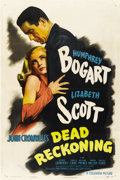 "Movie Posters:Film Noir, Dead Reckoning (Columbia, 1947). One Sheet (27"" X 41"") Style B...."