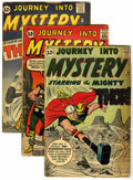 Silver Age (1956-1969):Superhero, Journey Into Mystery Group (Marvel, 1962-63) Condition: Average GD/VG.... (Total: 3 Comic Books)