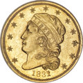Early Quarter Eagles, 1831 $2 1/2 MS62 NGC....