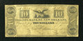 Obsoletes By State:Louisiana, New Orleans, LA- City Bank of New Orleans $10 Mar. 12, 1832 G22. ...