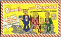 Memorabilia:Comic-Related, Blondie and Dagwood Interchangeable Blocks (King Features Syndicate, Inc., 1951)....