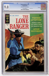 Lone Ranger #11 File Copy (Gold Key, 1968) CGC NM/MT 9.8 Off-white to white pages