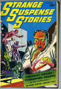 Golden Age (1938-1955):Horror, Strange Suspense Stories #2-4 Bound Volume (Fawcett, 1952)....