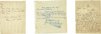 Charles Dickens. Autograph Letter Signed by Charles Dickens to Captain James M. Dolliver, Inspector, Boston Custom Ho