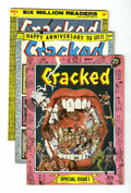 Magazines:Humor, Cracked Group (All-American, 1958) Condition: Average FN....(Total: 3 Comic Books)