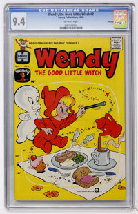 Wendy, the Good Little Witch #2 File Copy (Harvey, 1960) CGC NM 9.4 Off-white pages