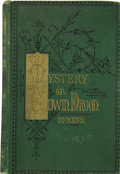 Books:First Editions, Charles Dickens. The Mystery of Edwin Drood. With TwelveIllustrations by S. L. Fildes, and a Portrait. London: ...