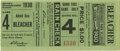 Baseball Collectibles:Tickets, 1930 St. Louis Cardinals World Series Ticket Stub. Pristine stubfrom the St. Louis Cardinals side of the 1930 World Series...