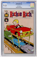 Silver Age (1956-1969):Humor, Richie Rich #37 File Copy (Harvey, 1965) CGC VF/NM 9.0 Off-white pages....