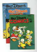 Golden Age (1938-1955):Cartoon Character, Walt Disney's Comics and Stories Group (Dell, 1946-62).... (Total:5 Comic Books)