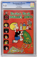 Silver Age (1956-1969):Humor, Richie Rich Dollars and Cents #5 File Copy (Harvey, 1964) CGC VF/NM 9.0 Off-white to white pages....