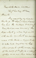 Autographs:Authors, Charles Dickens. Autograph Letter Signed by Charles Dickens toThomas Battam, 31 May 1852....