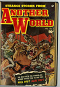 Golden Age (1938-1955):Horror, Strange Stories from Another World #2, 3, and 4 Bound Volume(Fawcett, 1952)....