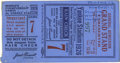 Baseball Collectibles:Tickets, 1926 World Series Game Seven Ticket Stub. Babe Ruth played the rarerole of the goat on this day, inexplicably recording th...