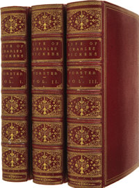 [Charles Dickens]. John Forster. The Life of Charles Dickens. London: Chapman and Ha