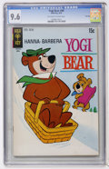 Bronze Age (1970-1979):Cartoon Character, Yogi Bear #40 File Copy (Gold Key, 1970) CGC NM+ 9.6 Off-white towhite pages....