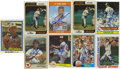 Autographs:Sports Cards, Jim Palmer Signed Baseball Cards Lot of 9. Lot of nine cards signed by the high kicking pitcher that spent his entire major...