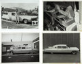"Movie/TV Memorabilia:Photos, Elvis Presley ""Dream Car"" by George Barris Photos. One of the firstthings Elvis did to celebrate his newfound fame in the '... (Total:1 Item)"