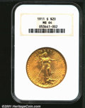 Certified: , 1911-S $20