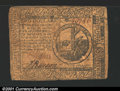 Colonial Notes:Continental Congress Issues, February 17, 1776, $2, Continental Congress Issue, CC-24, Fine+...