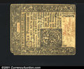 Colonial Notes:Connecticut, June 1, 1775, 20s, Connecticut, CT-186, VF. This note is solid ...