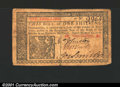 Colonial Notes:New Jersey, March 25, 1776, 1s, New Jersey, NJ-175, Fine+....