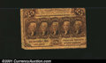 Fractional Currency:First Issue, First Issue 25c, Fr-1280, Fine....