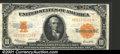 Large Size Gold Certificates:Large Size, 1922 $10 Gold Certificate, Fr-1173, VF....
