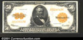 Large Size Gold Certificates:Large Size, 1922 $50 Gold Certificate, Fr-1200, VF-XF. A decent circulated ...