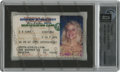Movie/TV Memorabilia:Memorabilia, Anna Nicole Smith's Texas DPS Photo ID Card. Issued to Vickie LynnSmith with an expiration date of November 28 (her birthda...
