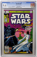 Modern Age (1980-Present):Science Fiction, Star Wars #48 (Marvel, 1981) CGC NM+ 9.6 Off-white to white pages.Princess Leia faces Darth Vader. Carmine Infantino cover ...