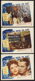 "Movie Posters:Adventure, Two Years Before the Mast (Paramount, 1946). Lobby Cards (3) (11"" X14""). Adventure. Directed by John Farrow. Starring Alan ... (Total:3 Items)"