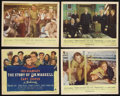 """Movie Posters:War, The Story of Dr. Wassell (Paramount, 1944). Title Lobby Card (11"""" X14"""") and Lobby Cards (3) (11"""" X 14""""). War Drama. Starrin... (Total:4 Items)"""