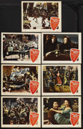 """Movie Posters:Musical, The Vagabond King (Paramount, 1956). Lobby Cards (7) (11"""" X 14""""). Musical. Starring Kathryn Grayson, Oreste, Rita Moreno and... (Total: 7 Items)"""