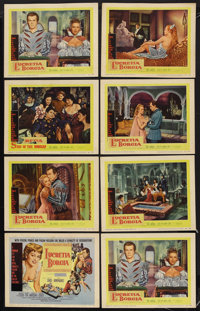 "Sins of the Borgias (Aidart Pictures, Inc., 1955). Lobby Card Set of 8 (11"" X 14""). Historical Drama. Starring..."