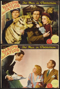 """Movie Posters:Romance, Personal Property (MGM, 1937). Lobby Cards (2) (10"""" X 13""""). Romance. Starring Jean Harlow, Robert Taylor, Reginald Owen and ... (Total: 2 Items)"""