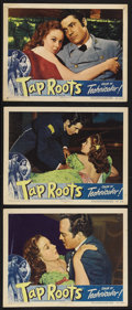 "Movie Posters:Drama, Tap Roots (Universal, 1948). Lobby Cards (3) (11"" X 14""). Drama. Starring Van Heflin, Susan Hayward, Boris Karloff and Julie... (Total: 3 Items)"