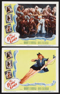 """Movie Posters:Comedy, The Petty Girl (Columbia, R-1955). Lobby Cards (2) (11"""" X 14""""). Comedy. Starring Robert Cummings, Joan Caulfield, Elsa Lanch... (Total: 2 Items)"""