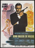 "Movie Posters:James Bond, From Russia with Love (United Artists, 1964). French Petite (23.5""X 31.5""). Action. Starring Sean Connery, Claudine Auger, ..."