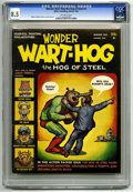 Magazines:Humor, Wonder Wart-Hog #1 (Millar Publishing, 1967) CGC VF+ 8.5 Off-whitepages. Gilbert Shelton stories, cover, and art. Not liste...
