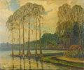 Texas:Early Texas Art - Regionalists, DWIGHT HOLMES (1900-1986). Untitled Caddo Lake, East Texas, 1960.Oil on canvasboard. 25in. x 30in.. Signed lower left. A ...