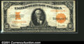 Large Size Gold Certificates:Large Size, 1922 $10 Gold Certificate, Fr-1173, Fine-VF. A pleasing circula...