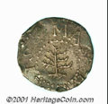 Colonials: , 1652 3PENCE PINE TREE