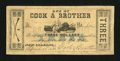 Obsoletes By State:Louisiana, New Orleans, LA- Cook & Brother $3 April 15, 1862. ...