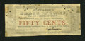 Obsoletes By State:Louisiana, New Orleans, LA- Peterson's Brass Works 50¢ March 1862. ...