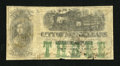 Obsoletes By State:Louisiana, New Orleans, LA- City of New Orleans $3 Oct. 1, 1861. ...