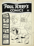 Original Comic Art:Covers, Paul Terry's Comics Cover Original Art (St. John, undated)....